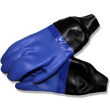 Drygloves with seals - pre-made