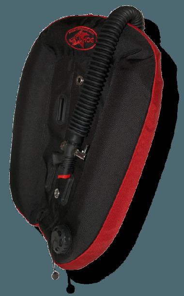Hog 23lb Single Tank Wing - Black/Red