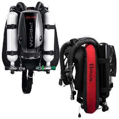 Prism 2 Rebreather with Backmounted Counterlungs