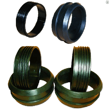 Rubber Pullover Dry Glove Rings