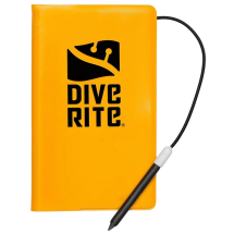 Dive Writes Wetnotes with Pencil