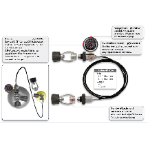 Deluxe Cylinder Equalizer with DuoKev HP Hose