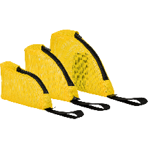 Yellow Mesh Weight Pouch