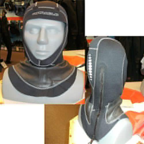 Pinnacle 5mm Merino Lined Zippered Hood