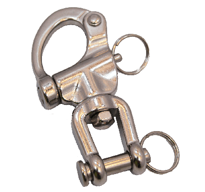 """3 1/2"""" Rescue Shackle with Clevis"""
