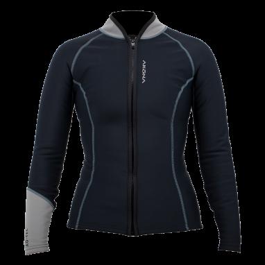 AQ-Tec Women's Long Sleeve Zippered Shirt