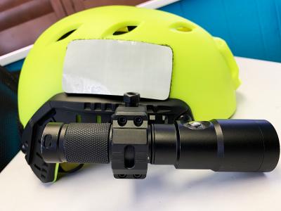Light Bracket for Bump Helmet
