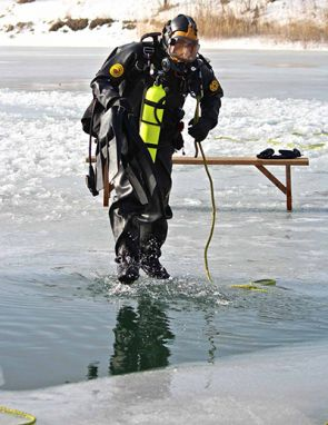 Ice Diving Operations Course