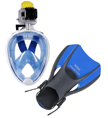 Full Face Snorkeling Package