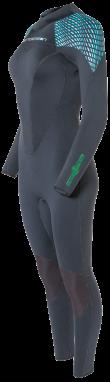 Women's Greenprene 3mm Backzip Fullsuit