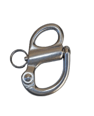 """2"""" Fixed Stainless Steel Bail Snap Shackle"""
