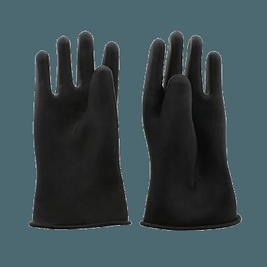 5 Finger Rubber Gloves Short
