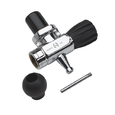 TV-6800 – 300 BAR Valve with Post and Rubber Boot