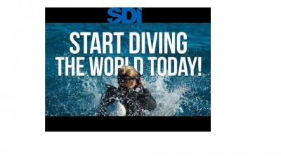 SDI Open Water Diver Certification