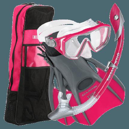 Diva LX Women's Snorkel Set