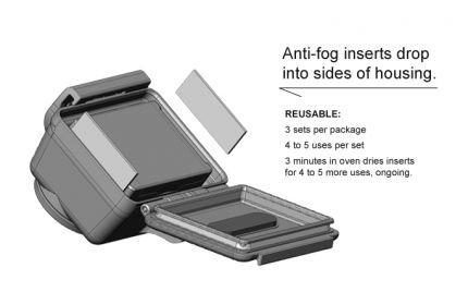 Anti-Fog Inserts