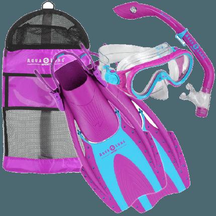Coral LX Kid's Snorkel Set