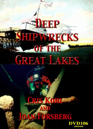Deep Shipwrecks of the Great Lakes DVD