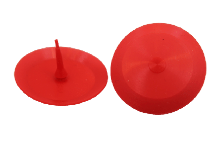 Silicone Disc Red