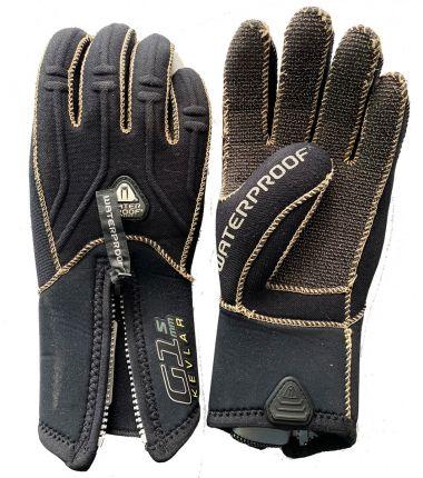 Used 5mm 5 Finger Kevlar Glove  XL
