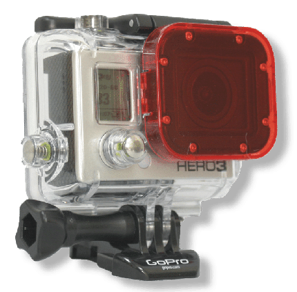 Hero 3 Red Dive Filter
