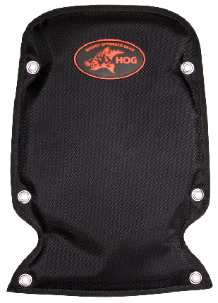Backplate Back Pad with Storage Pocket