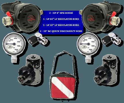 Hog Sidemount Regulator Package