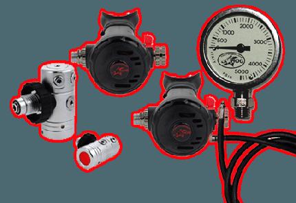 scuba regulator packages
