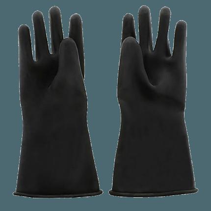 5 Finger Rubber Gloves Long
