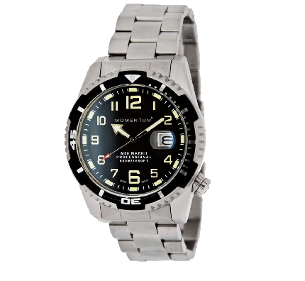 M50 Dive Watch with a Steel Band