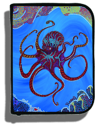 Octopus Log Book Binder