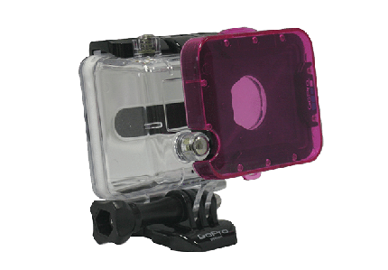 Hero 2 Magenta Dive Filter