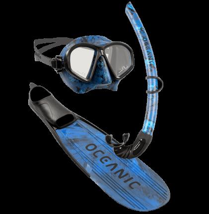 Predator Freediving Snorkel Kit