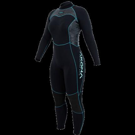 3mm Womens Quantum Stretch Full Wet Suit