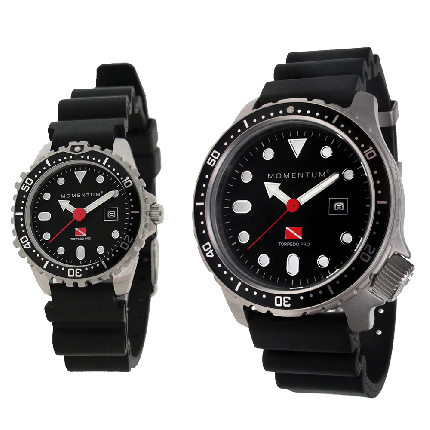 Torpedo Pro Dive Watch with Rubber Band