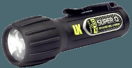 Super Q eLED Rechargeable Light - Black