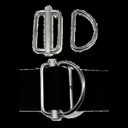 Sliding Metal D-Rings