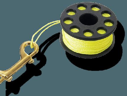 Finger Spool w/ Brass Clip - Various Length
