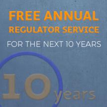 Regulator Service for 10 Years!