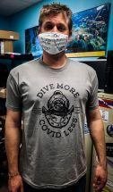 Dive More, Covid Less 2020 V-Neck Shirt