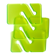 3 REMs (Reference Exit Markers) Transparent Green