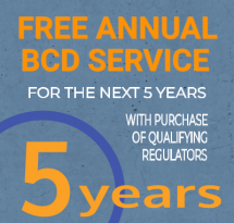 BCD Service for 5 Years!