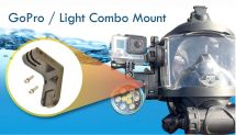 Combination Mount for Accessory Rail System