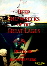 Deep Shipwrecks of the Great Lakes DVD