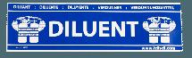 Diluent Cylinder Sticker