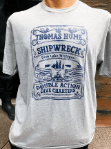 Thomas Hume T-Shirt by Double Action Dive Charters