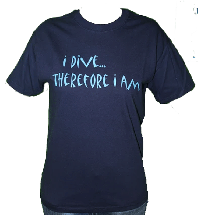 I Dive Therefore I am Tee