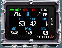 iX3M GPS Tech+ Dive Computer