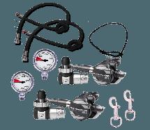 M1 Sidemount Regulator Package