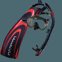 Mask Fins & Snorkel Package